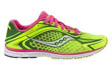 saucony Type A5  Hardloopschoenen Wedstrijd Dames geel/roze